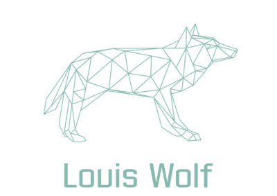 Designimals logo Louis Wolf