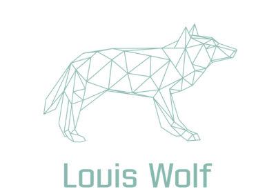 Designimals logo Louis Wolf